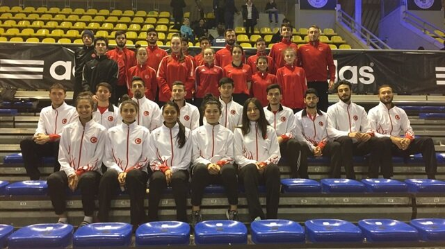 Hollanda Açık Turnuvası'nda 6'sı altın olmak üzere toplam 12 madalya kazandık.