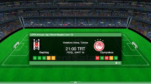 BJK Olimpiakos maçı kaç kaç? sorusunun yanıtı ve canlı yayın bilgileri haberimizde.