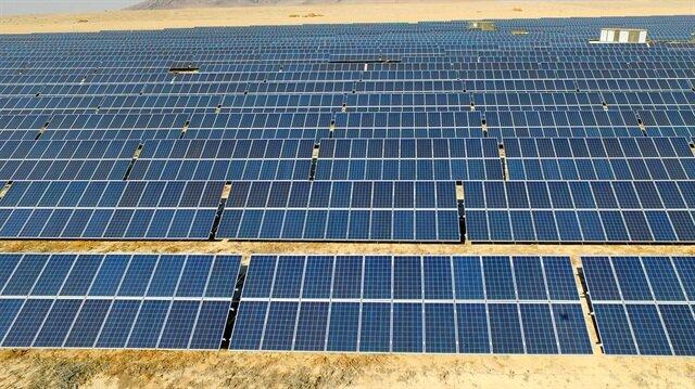 Dev güneş santralinde en düşük teklif