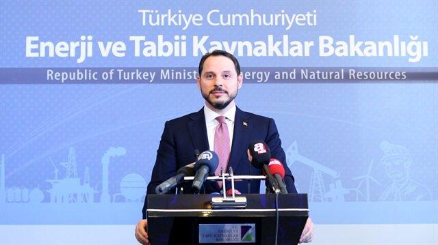 Enerji ve Tabii Kaynaklar Bakanı Berat Albayrak  basın mensuplarına açıklamalarda bulundu.