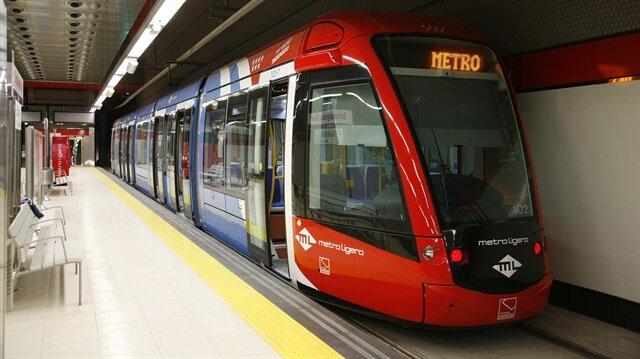 Veznecilerden 3'üncü Havalimanına kadar gidecek bir metro çalışması yapılıyor.