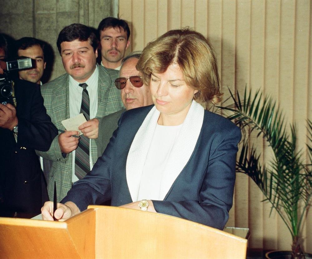 Tansu Çiller hükümeti 1995 yılında anayasada önemli değişiklikler yaptı.