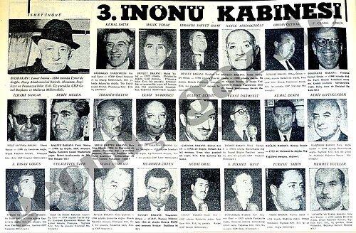 1963 yılında üçüncü İnönü Koalisyonu kuruldu.