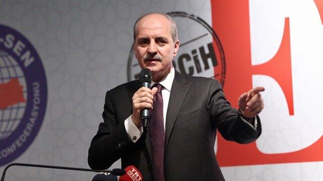 Turkish Deputy PM Numan Kurtulmuş