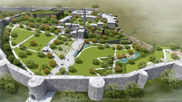 Devlet Sur'u yeniden inşa ediyor