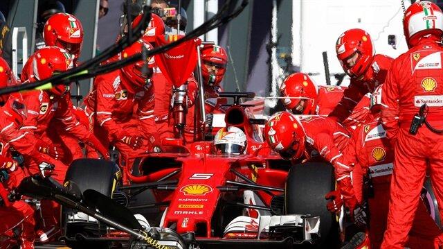 Avustralya'da zafer Sebastian Vettel'in