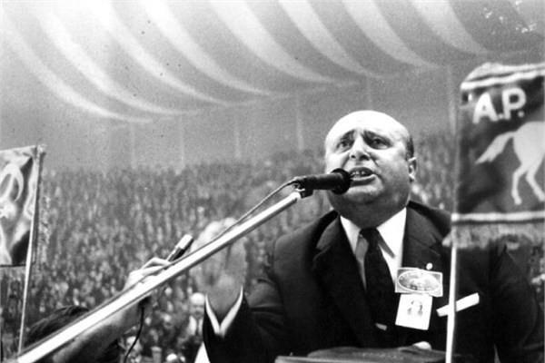 1965 seçimlerinde Adalet Partisi anti-komünizm sloganlarını öne çıkardı. (BYEGM arşivi)