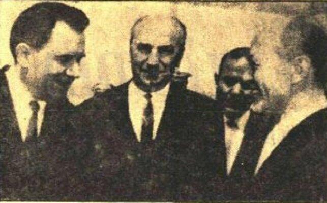Sovyet Dışişleri Bakanı Gremiko Ankara'da.