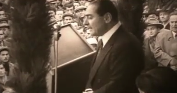 DP Genel Başkanı Adanan Menderes iktidarları döneminde yapılan icraatları anlattı.