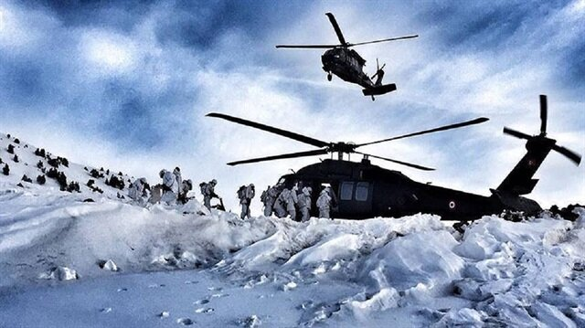 Turkish Armed Forces carry out operation targeting PKK terrorists