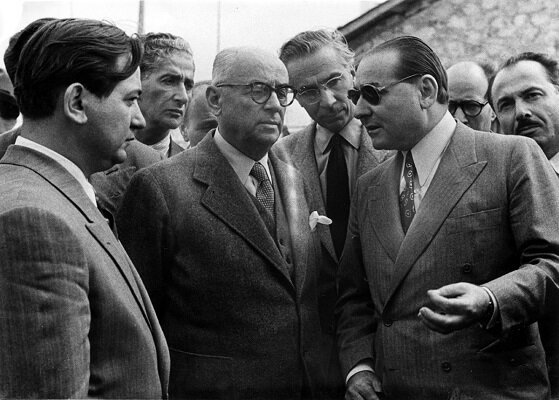 Celal Bayar ve Adnan Menderes. (BYEGM arşivi)