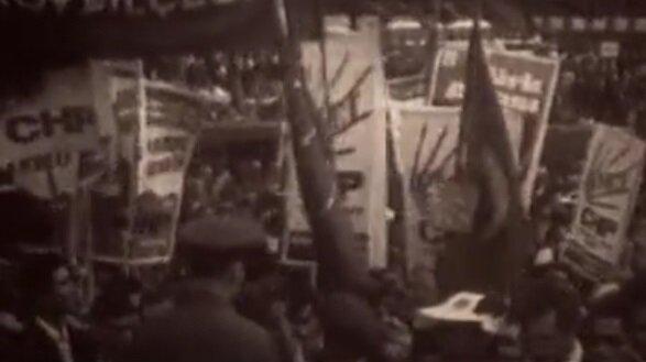 CHP'nin 1950 seçimlerinde bir mitingi.