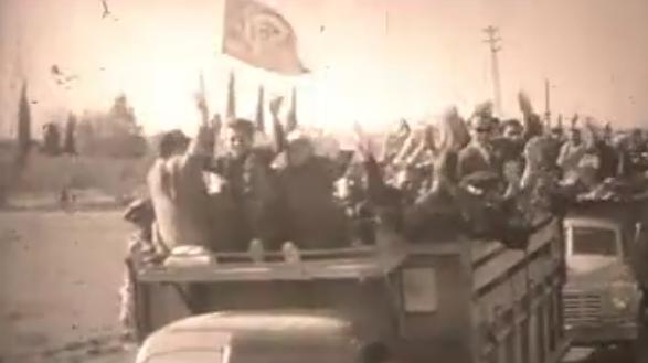 1950 seçimlerinden bir görüntü.