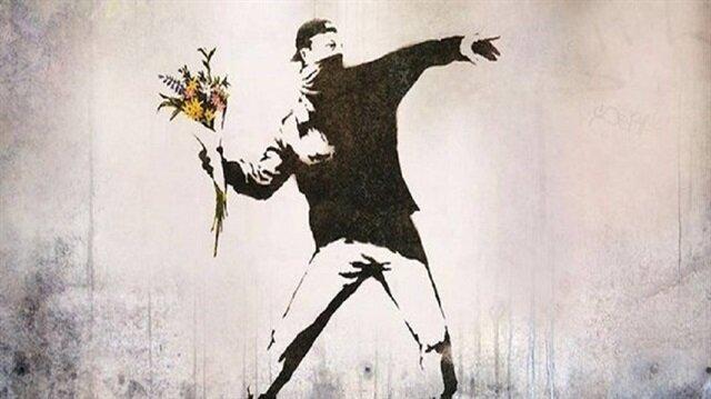 Banksy ilk defa görüntülendi