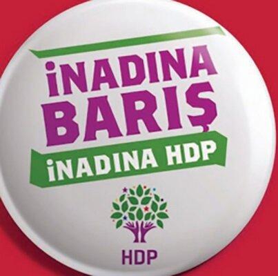HDP seçim afişi.
