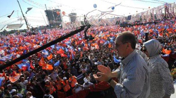 AK Parti, İstanbul mitingi.