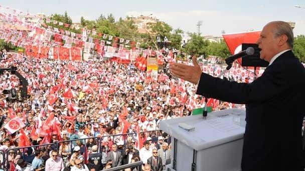 MHP, Diyarbakır mitingi.