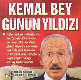 Kılıçdaroğlu'nun oy kullanamaması gazetelerin birinci sayfasında yer aldı.