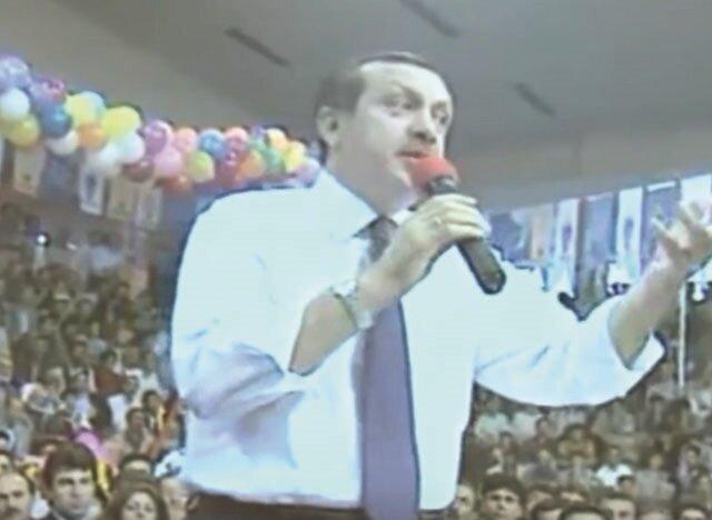 AK Parti Genel Başkanı seçilen Erdoğan, il il dolaştı.
