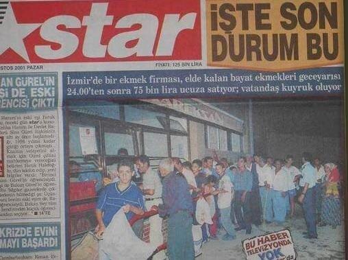 Türkiye'deki ekonomik durumu anlatan haber.