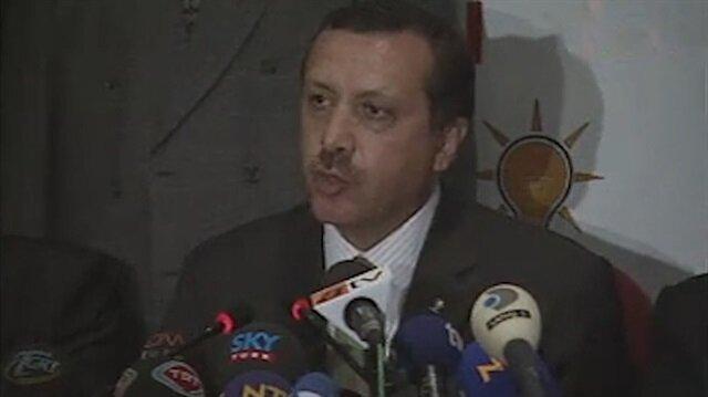 Erdoğan'ın 2002 Genel Seçimleri sonrası yaptığı konuşma