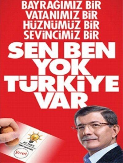 AK Parti seçim afişi.