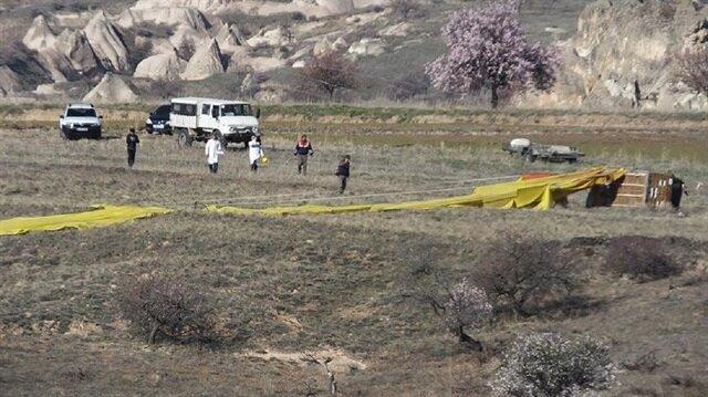 Kapadokya'daki balon kazasında 1 kişi hayatını kaybetmişti, 6 kişi yaralanmıştı.