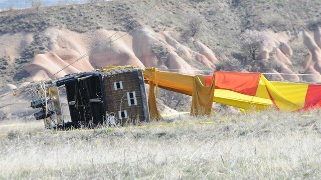 Kapadokya'daki balon kazası ile ilgili çarpıcı iddia