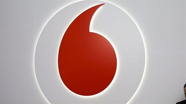 A Vodafone logo