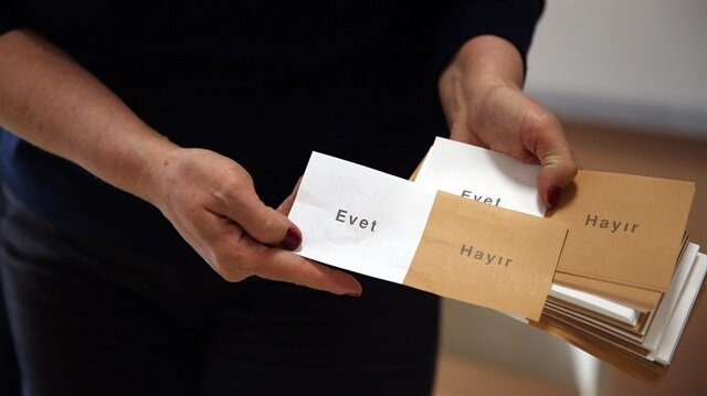 Türkiye, anayasa değişikliği halk oylaması için bugün sandık başına gitti.