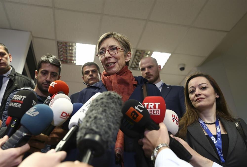 AGİT yayınladığı bir rapor ile provokatörlük yapmaya çalıştı.