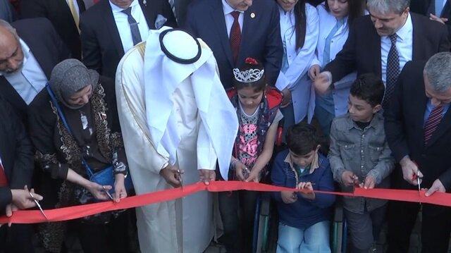 Savaş mağduru çocuklara protez merkezi açıldı
