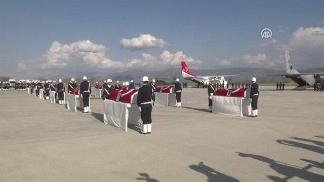 Tunceli şehitleri için tören düzenlendi