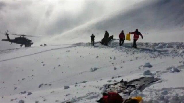 AFAD ekibinin olay yeri görüntüleri yayınlandı