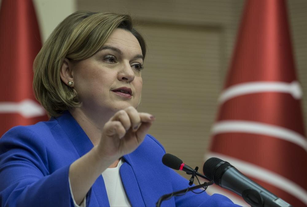 Cumhuriyet Halk Partisi Genel Başkan Yardımcısı ve Parti Sözcüsü Selin Sayek Böke açıklama yaptı.