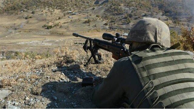 Terör örgütü PKK'ya yönelik operasyonlar kararlılıkla sürüyor.