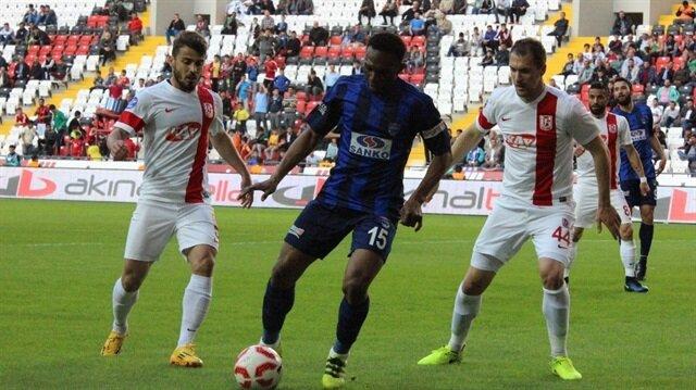 Gaziantep B.B: 1 -Balıkesirspor: 1  TFF 1. Lig