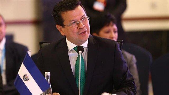Foreign Minister Hugo Martinez Bonilla.