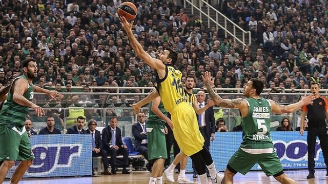 Fenerbahçe toppled Panathinaikos 80-75 on Thursday evening in a Turkish Airlines EuroLeague playoff match.