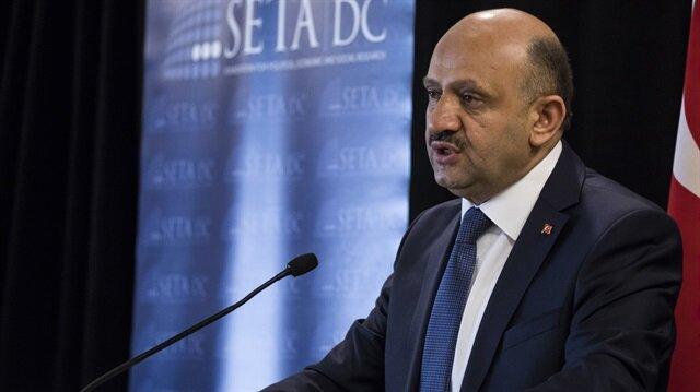 Turkish Defense Minister Fikri Işık.