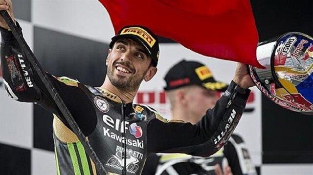 دّراج تركي يتصدر المرحلة الرابعة من بطولة العالم للدراجات النارية
