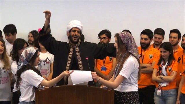 Ankara Üniversitesi'ndeki çirkin görüntülere büyük tepki!