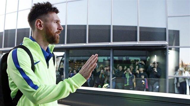 İşte Messi'nin bir günü