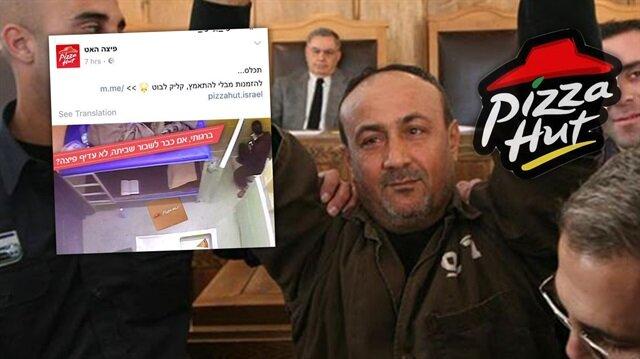 Pizza Hut Filistinli Mahkumlarla Alay Etti