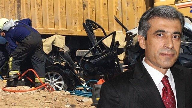 Denizli Cumhuriyet Başsavcısı trafik kazasında hayatını kaybetti