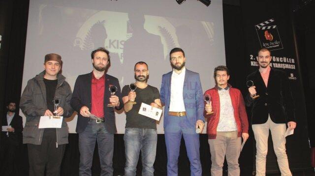Genç sinemacılar ödüllendirildi