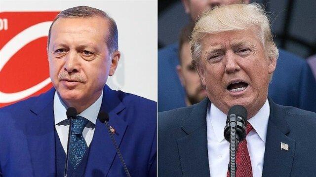 Erdoğan Washingtonda: Trump ile görüşme saati belli oldu