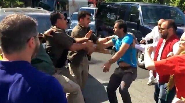 PKK supporters attack Turkish citizens in Washington