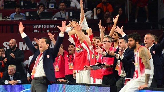 Basketbol THY Avrupa Ligi'nde İlk finalist Olympiakos!