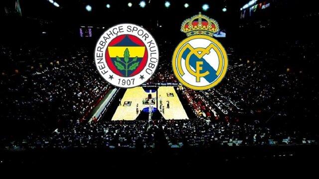 THY Avrupa Ligi: Fenerbahçe Real Madrid canlı skor